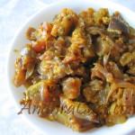 Vankaya Mamidikaya curry 1 - IMG_6301